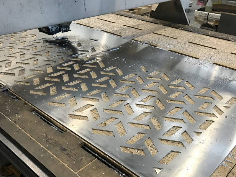 CNC Sheet Routering